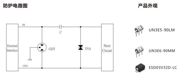 radio frequency protection circuit diagram two